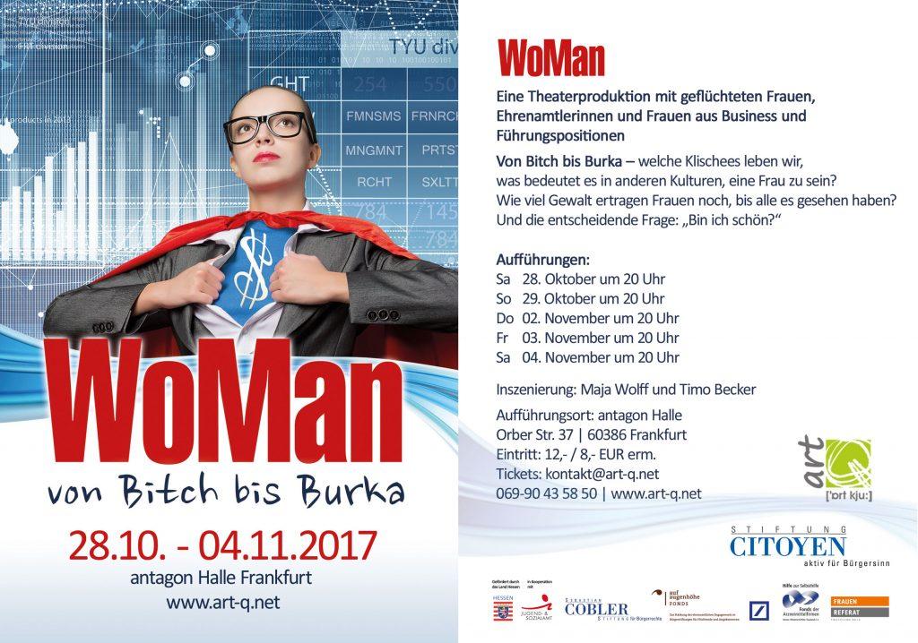 Theaterprojekt WoMan