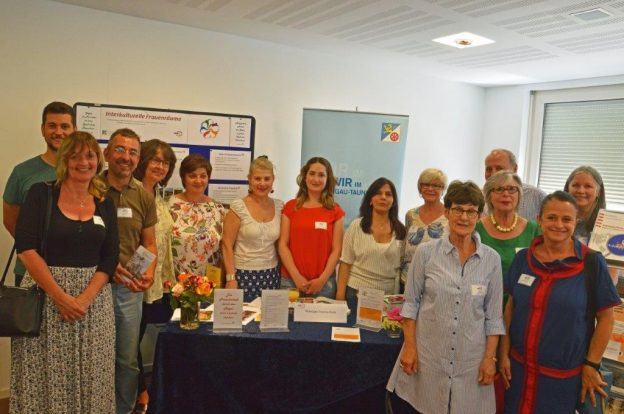 Vertreterinnen und Vertreter der Projekte aus dem RTK